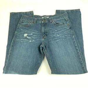 Mavi Jeans Size 33×34 Matt Distressed Boot Cut